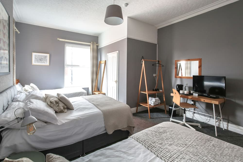 Familiekamer, en-suite badkamer - Kamer