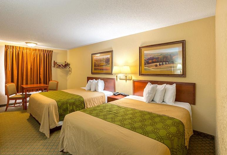 Rodeway Inn & Suites, Kearney, Standard Room, 2 Queen Beds, Non Smoking, Guest Room