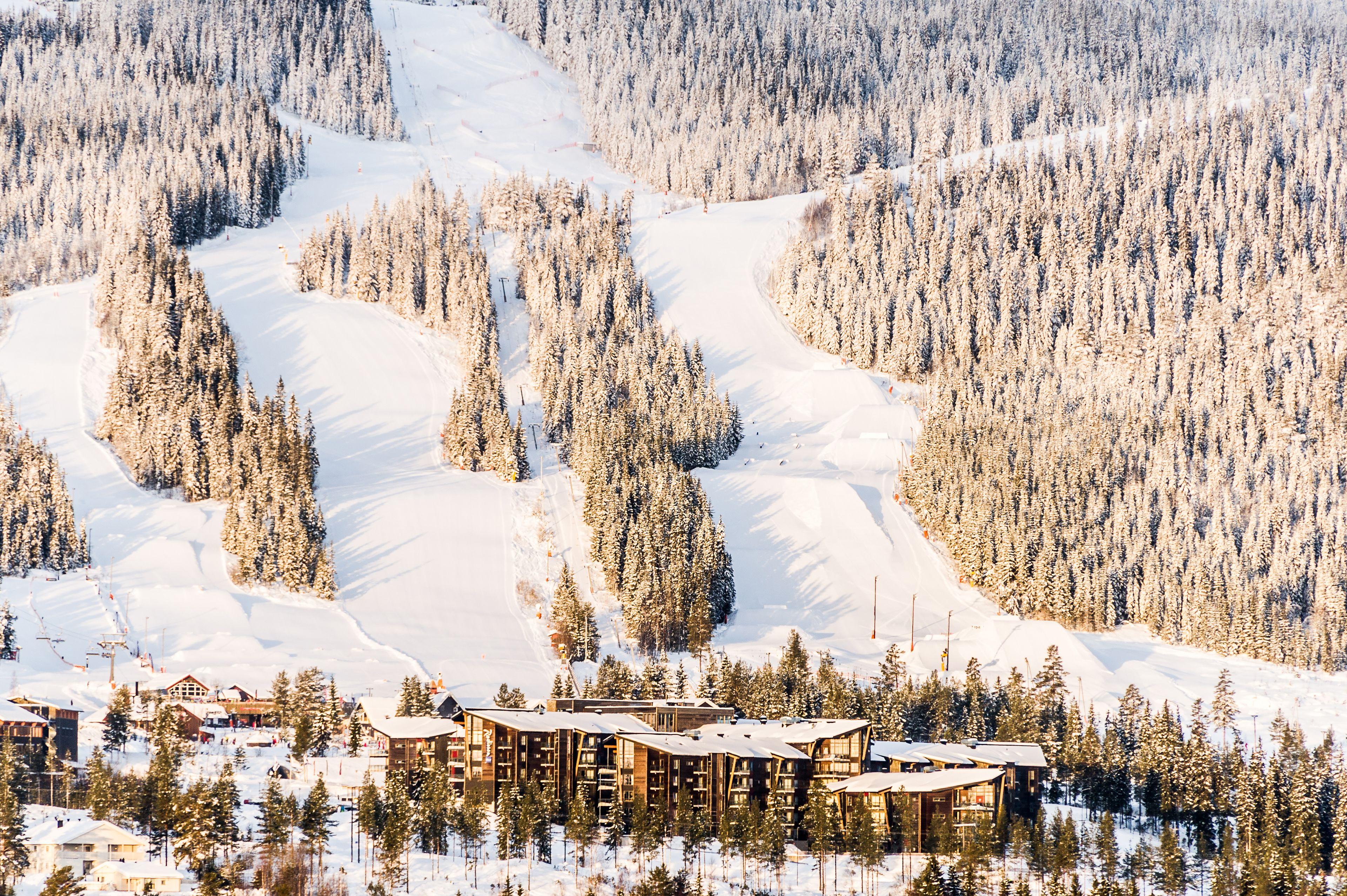 Radisson Blu Resort Trysil, Trysil, Utsikt fra luften