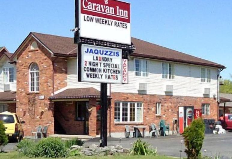 Caravan Inn Motel, Niagara Falls, Façade de l'hôtel