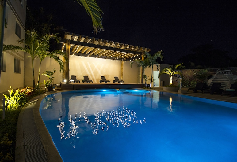 Hotel Tulijá Palenque, Palen'ue, Εξωτερική πισίνα