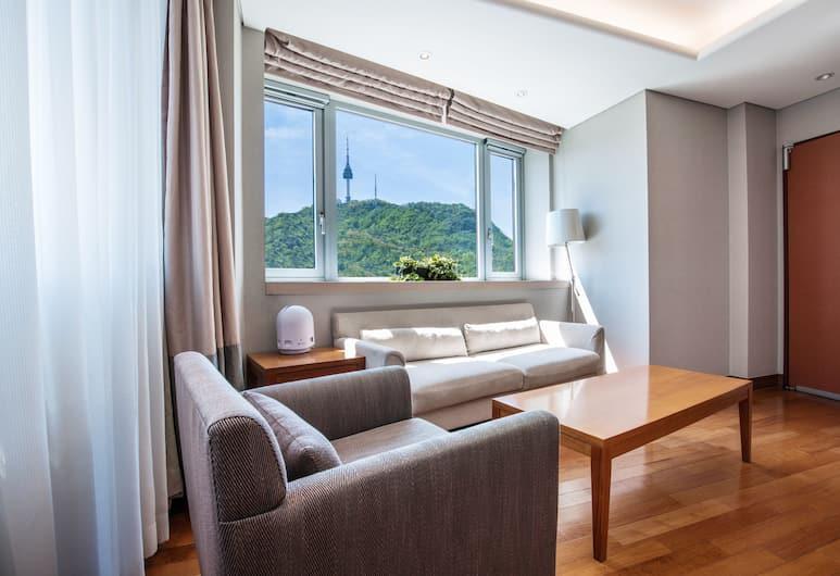 首爾王子大酒店, 首爾, 套房 (Namsan tower view), 山景