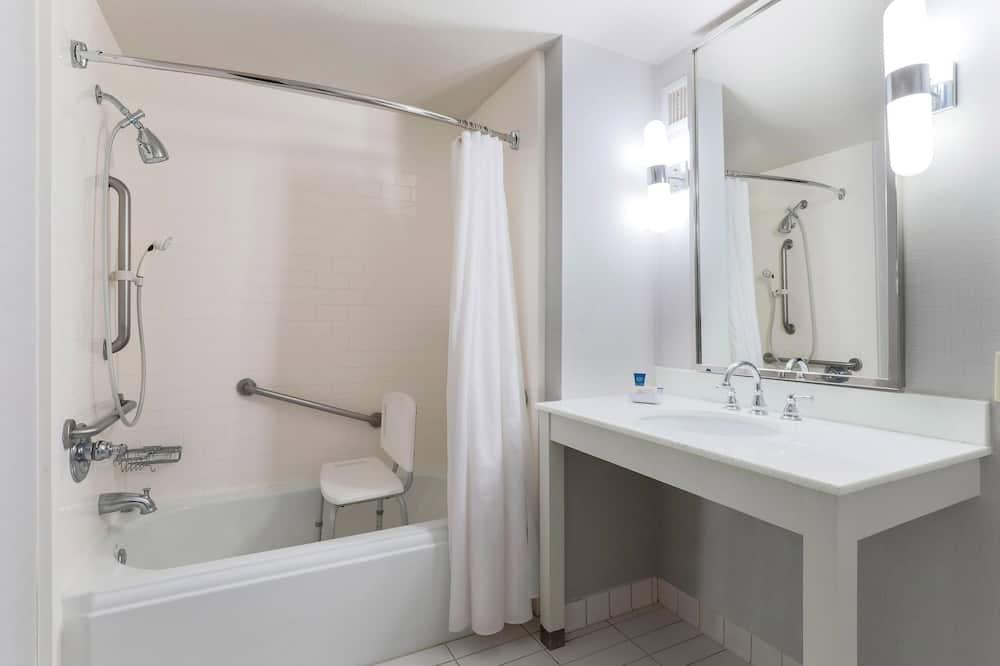 Pokój, 2 łóżka podwójne, dla niepalących - Łazienka