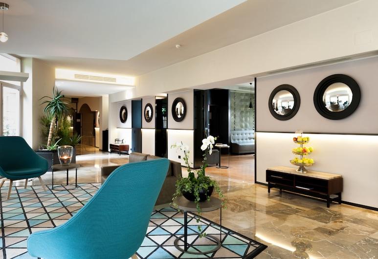 Hotel Lombardia, Milan, Lobby