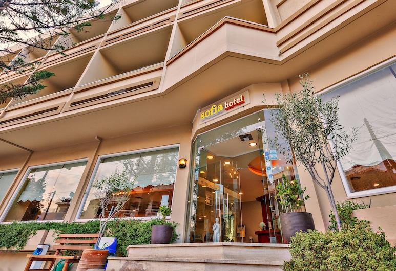 Sofia Hotel, Ηράκλειο, Είσοδος ξενοδοχείου