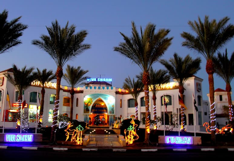 Viva Sharm, Sharm el-Sheikh, Hotellets facade - aften/nat