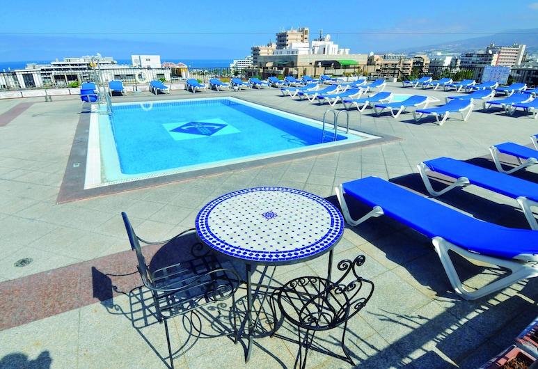 Hotel Zentral Center, Arona, Rooftop Pool
