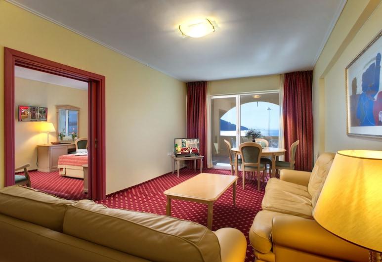 Angelika Pallas Hotel, Igoumenitsa, Suite ejecutiva, Sala de estar