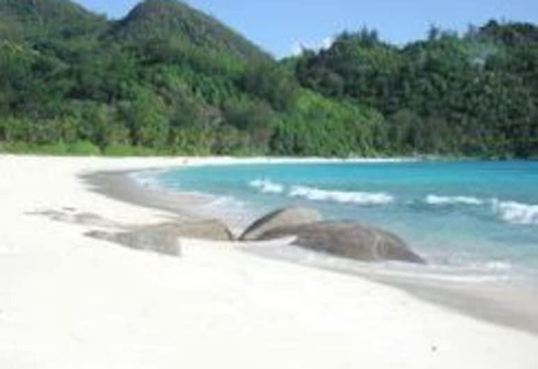 Daniella's Bungalows, Mahe Island, Beach