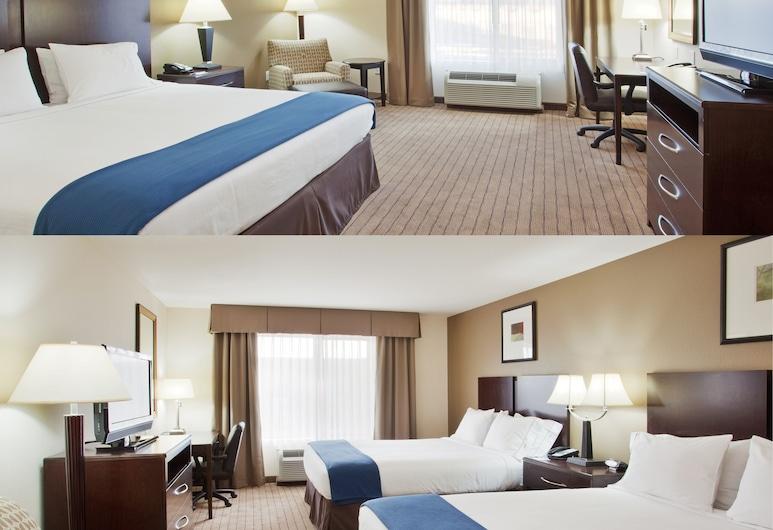 Holiday Inn Express Hotel & Suites Merced, Merced, Standard Room, Pemandangan Bilik Tamu