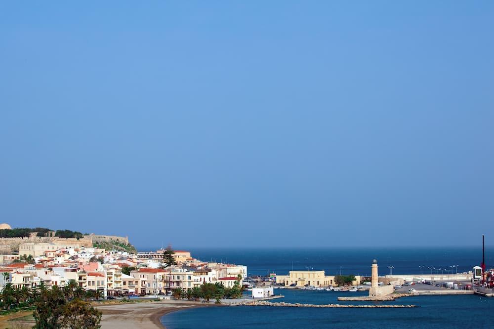 Trippelrum - Utsikt mot havet/stranden