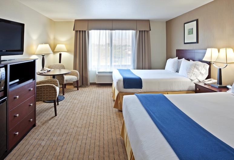 Holiday Inn Express Hotel & Suites Vancouver Mall, Ванкувер, Номер, 2 ліжка «квін-сайз», для некурців, Номер