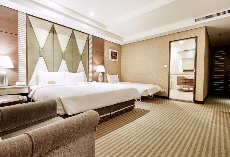台北宣美精品飯店, 台北市, 精緻三人房, 客房