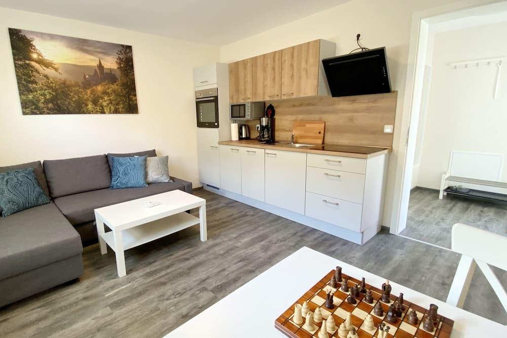 Basic Apart Daire - Oturma Alanı