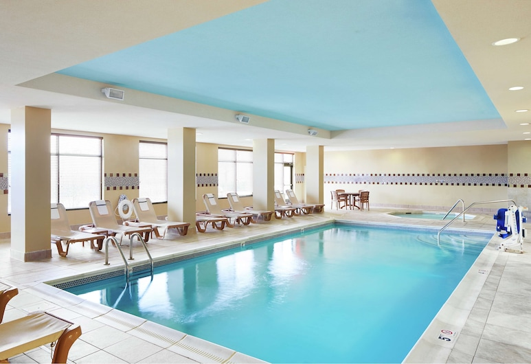 Hampton Inn Indianapolis Northwest - Park 100, אינדיאנפוליס, בריכה