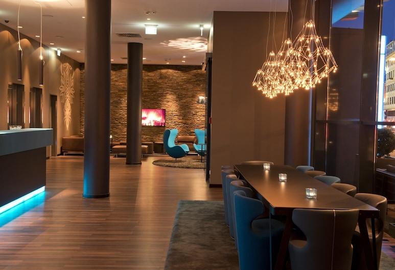 Motel One Nürnberg-City, Нюрмберг, Лаунж в отеле