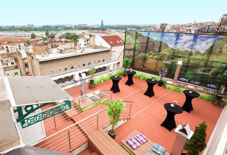 Kopernikus Hotel Prag, Belgrade, Terrace/Patio