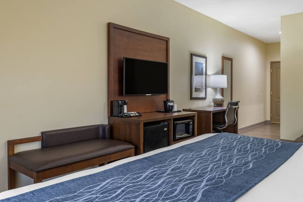 Suite, 1 King Bed, Non Smoking (1 Bedroom) - Living Area