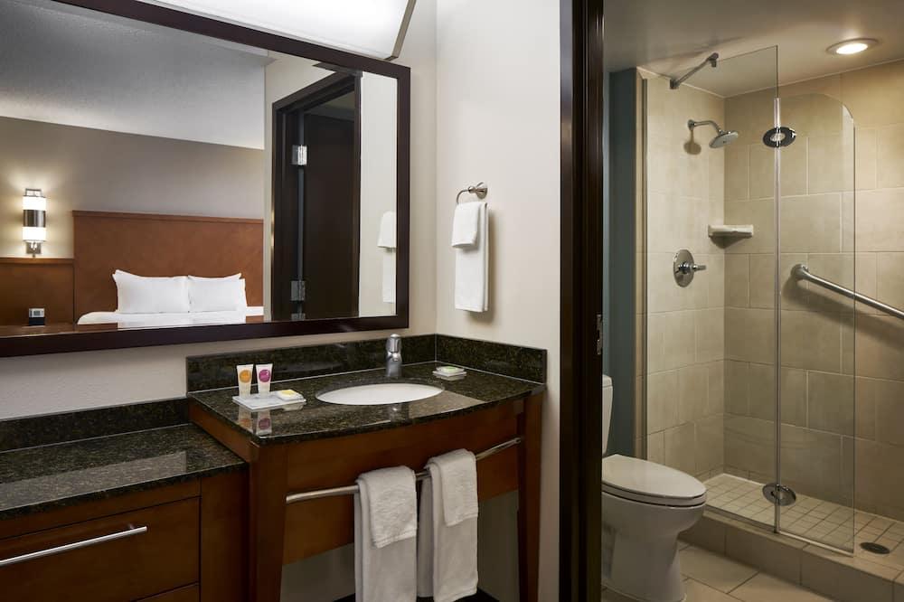 客房, 1 張特大雙人床 (High Floor) - 浴室