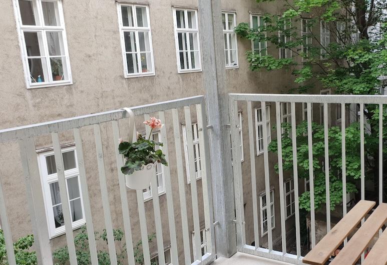 Appartements Hermine, Viena, Apartamento conforto, 2 quartos (1), Terraço/pátio