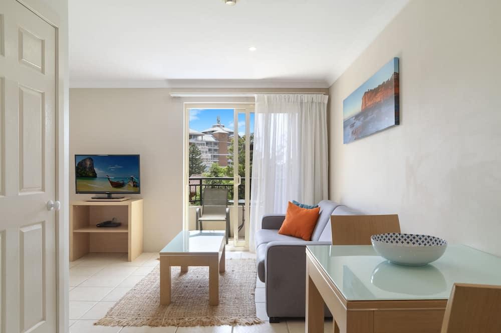 Studio - balkong - Vardagsrum