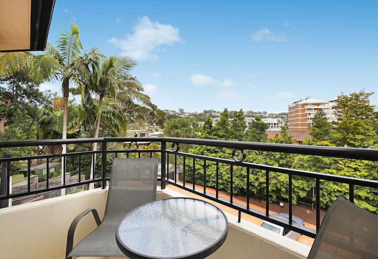 Terrigal Sails Serviced Apartments, Terrigal, Estudio, balcón, Balcón