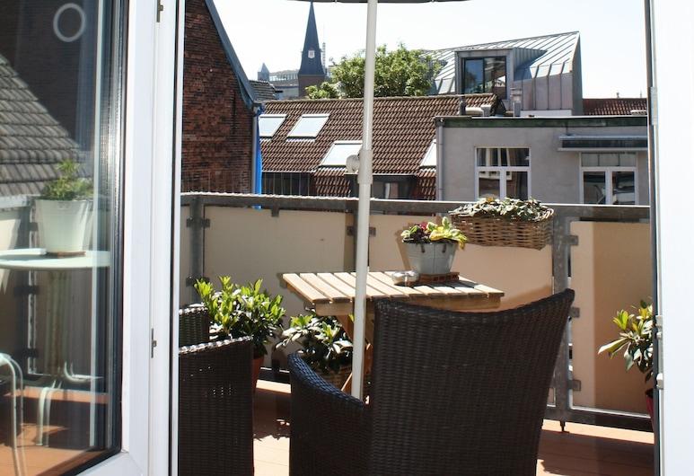 Hotel Malts, Haarlem, Standard Double Room, Terrace, Guest Room