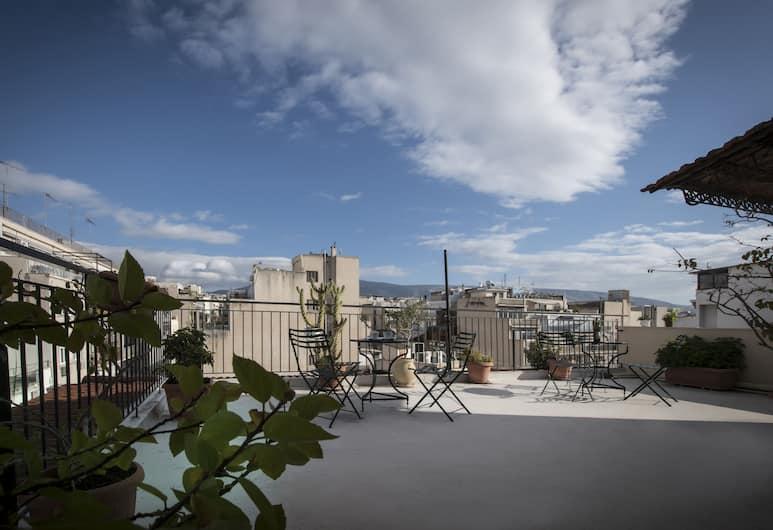 Carolina Hotel, Atėnai, Terasa / vidinis kiemas