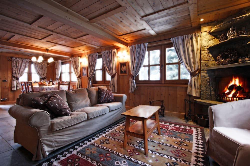Comfort mägimaja, 5 magamistoaga, mullivanniga, vaade mägedele - Lõõgastumisala