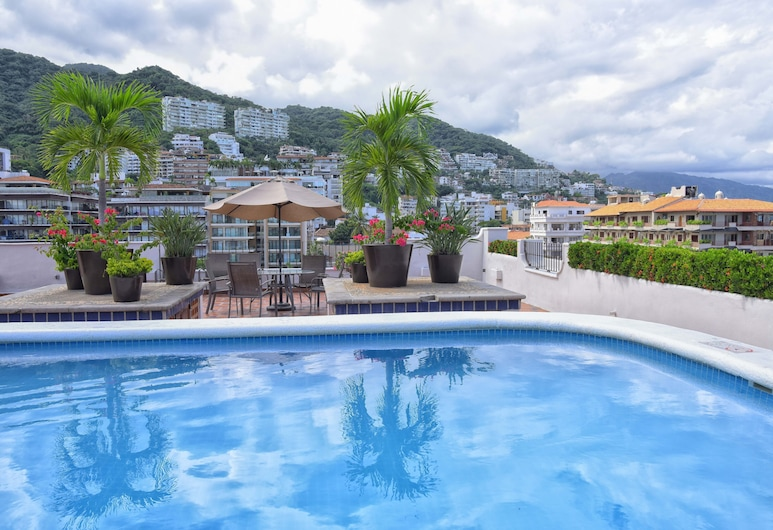 Hotel Eloisa, Пуэрто-Вальярта, Открытый бассейн