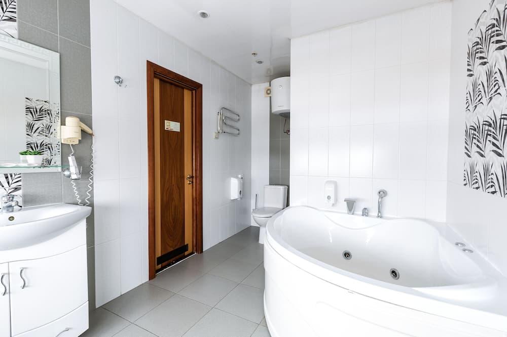 Suite - Banheira de hidromassagem privada