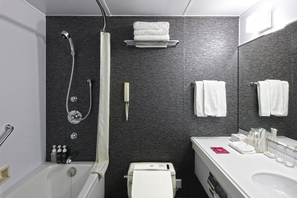 スタンダード ルーム シングルベッド 2 台 喫煙可 - バスルーム