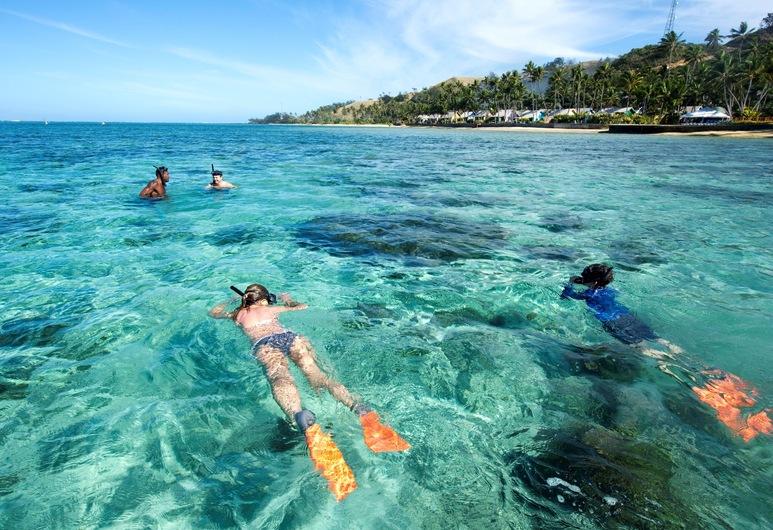 Fiji Hideaway Resort and Spa, Korolevu, Beach