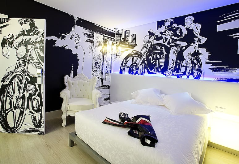 Dormirdcine Cooltural Rooms, Madrid, Standard Double or Twin Room, Guest Room