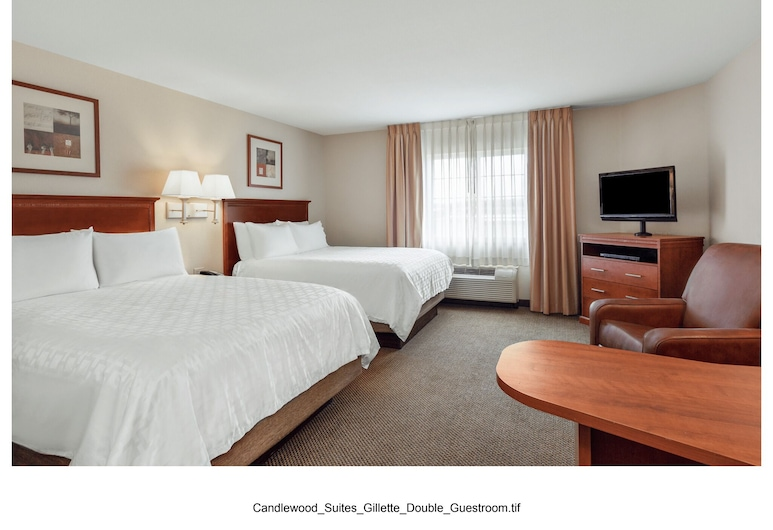 Candlewood Suites Gillette, Gillette, Apartament typu Studio, 2 łóżka queen, dla palących, Pokój