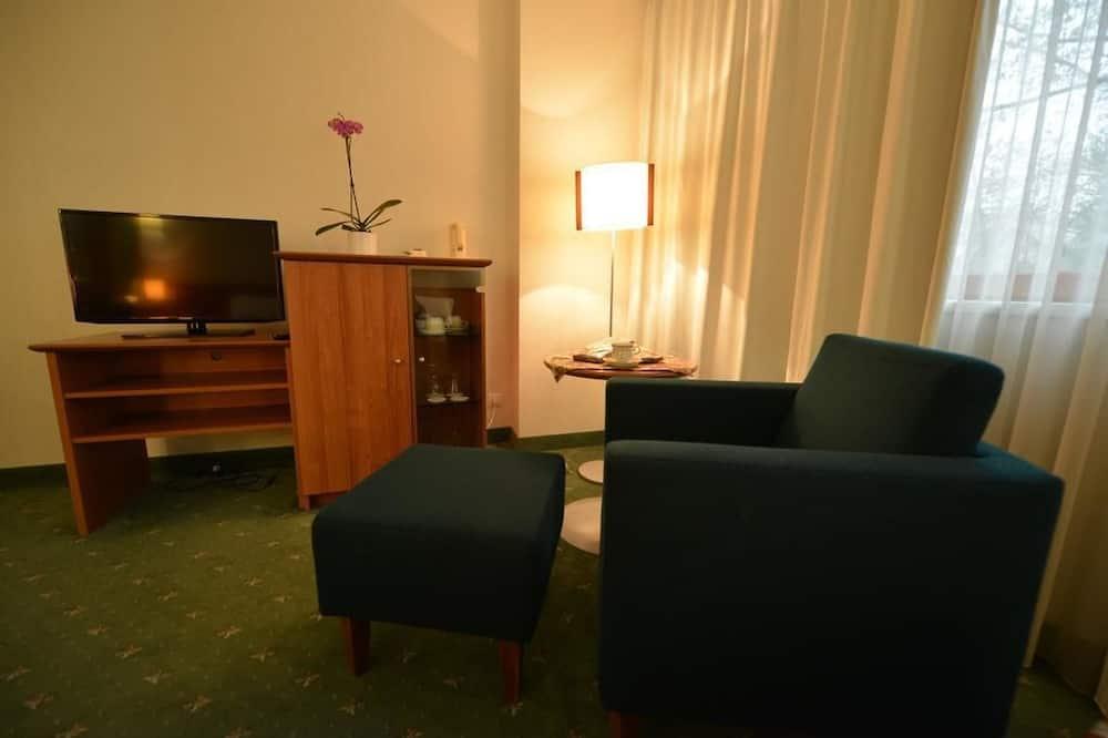 行政公寓, 1 間臥室 - 客廳
