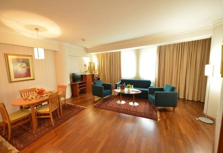 Hotel Karpos, Skopje, Studio, Living Area