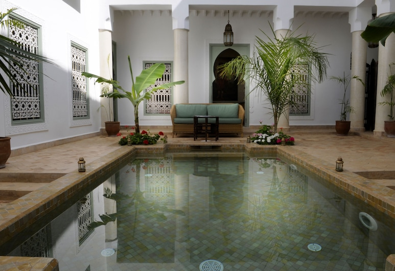 Riad Les Hibiscus, Marrakech, Basen odkryty