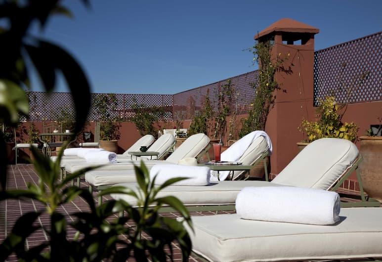 Riad les Bougainvilliers, Marrakech, Terrasse/Patio