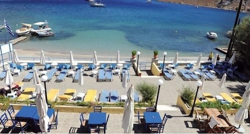 Pedi Beach Hotel Symi View From