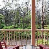 Zimmer (Rainforest) - Blick vom Balkon
