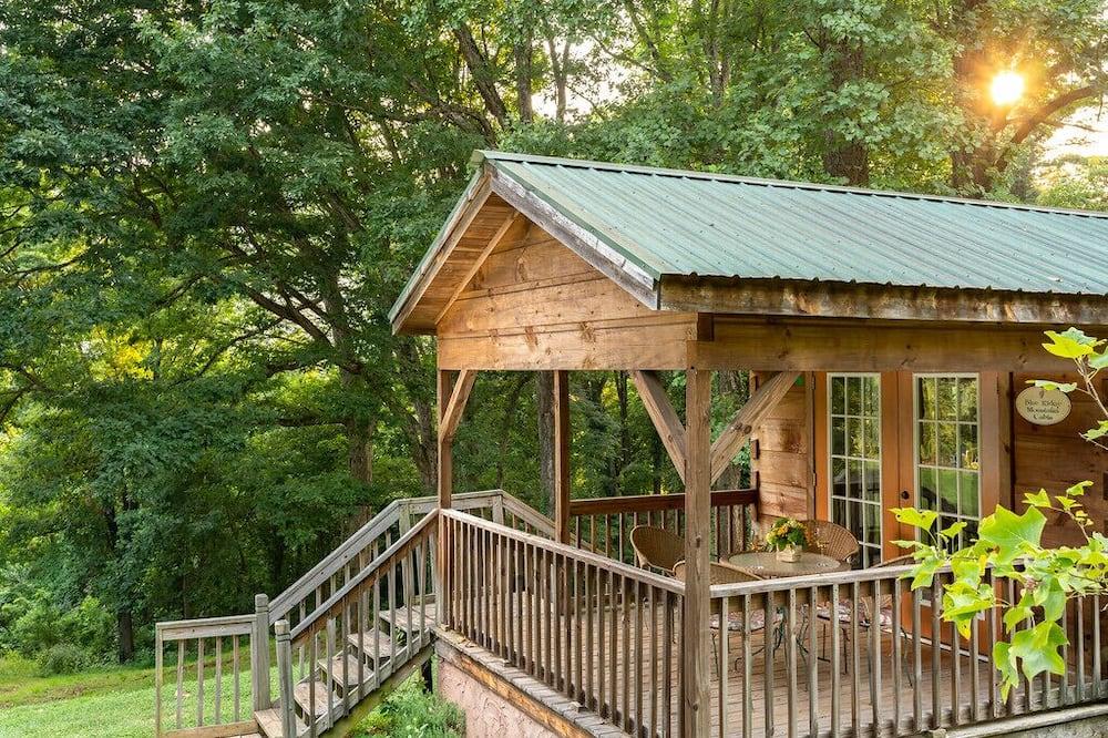 Cabin, Private Bathroom (Blue Ridge Mountains Cabin- No Breakfast, No Pets) - Balcony