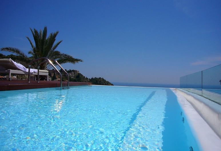 Hotel Il Piccolo Giardino, Taormina, Infinity Pool