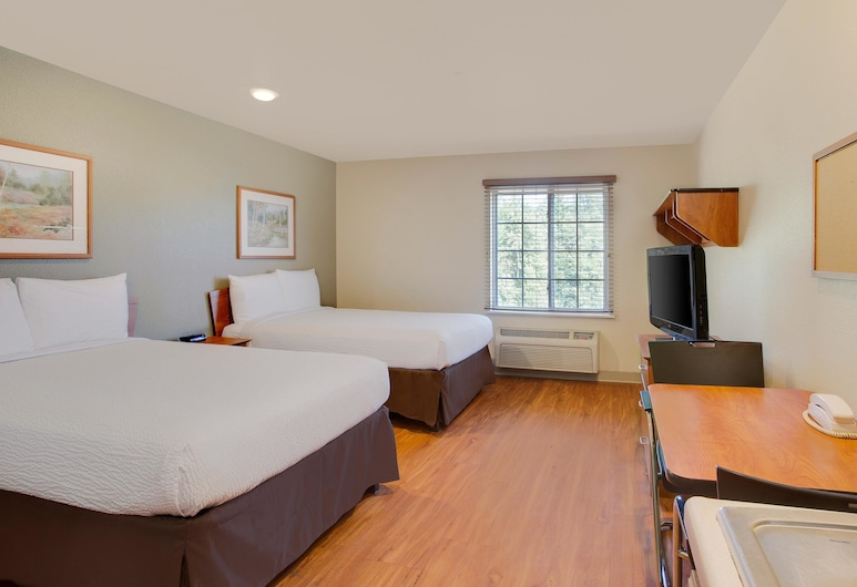 WoodSpring Suites Tuscaloosa, Tuscaloosa, Standard Studio, 2 Double Beds, Kitchen, Guest Room