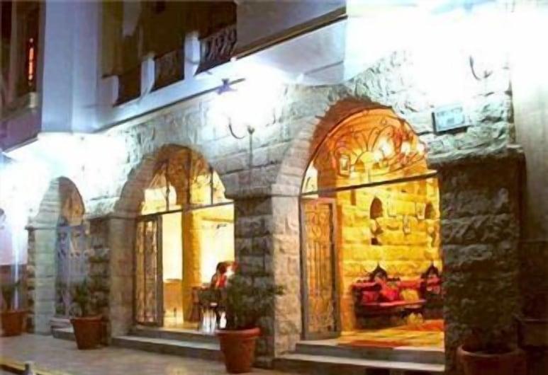 Hotel Volubilis, Kasablanka, Įėjimas į viešbutį