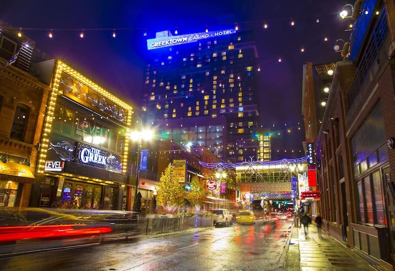 Greektown Casino Hotel, Detroit, Utvendig
