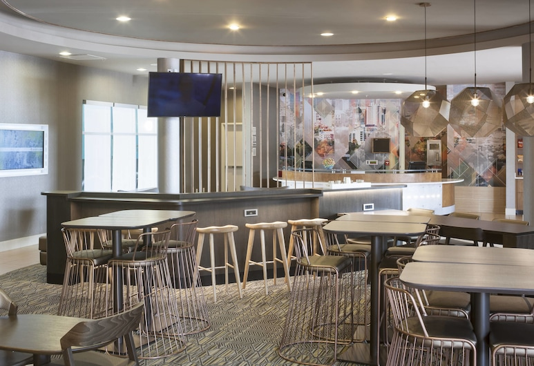 SpringHill Suites by Marriott Salt Lake City Airport, Salt Lake City, Vestíbulo