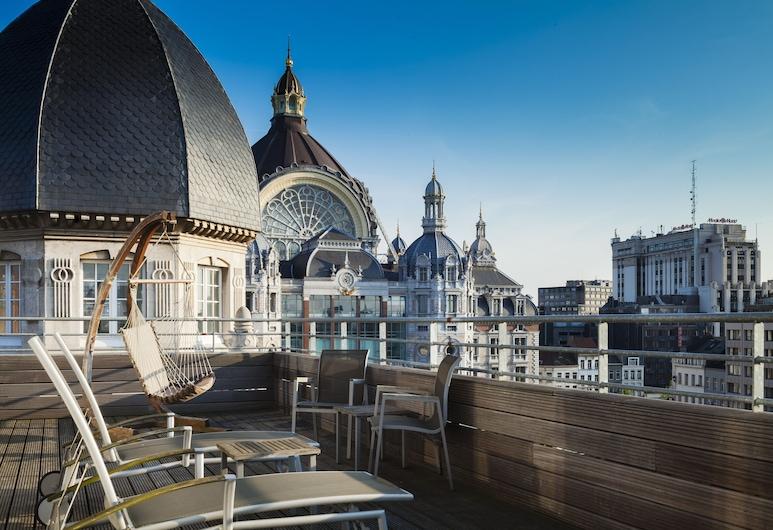 Park Inn by Radisson Antwerpen, Amberes, Suite junior, terraza, Terraza o patio