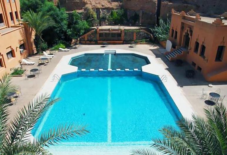 Hôtel Farah Al Janoub, Уарзазат, Открытый бассейн