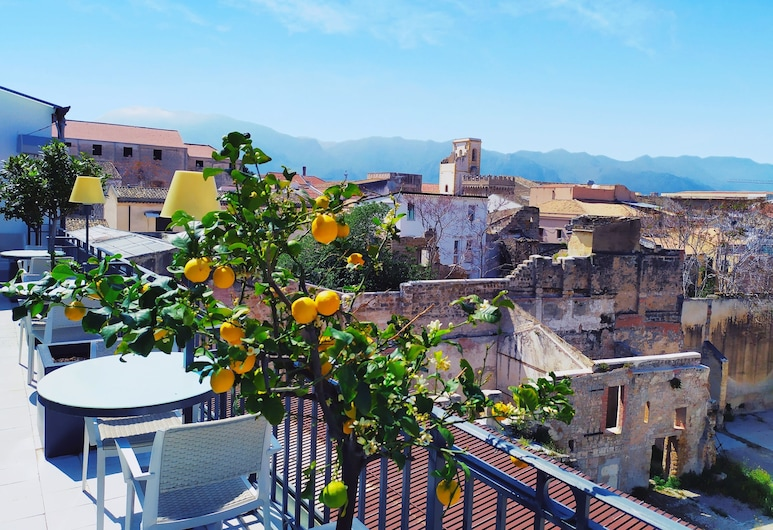 Hotel Porta Felice, Palermo, Terrasse/Patio